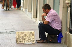 Beggar 27 Royalty Free Stock Image