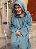 Beggar in Morocco Royalty Free Stock Photography