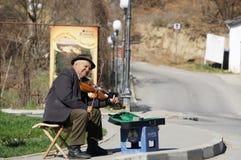 Beggar on street Stock Image