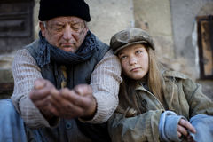 Beggars Stock Photography