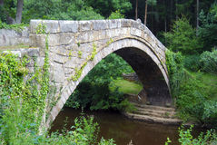 Beggars Bridge, Glaisedale Stock Photo