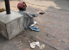 Beggars of Calcutta Stock Photos