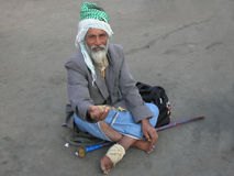 Beggars in India Royalty Free Stock Photography
