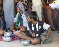 Beggars in Queue Stock Photos