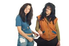 Beggars women Stock Image