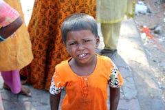 Beggin Indian Girl Stock Photos