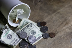 Free Begging Coin Money Stock Photography - 78803302