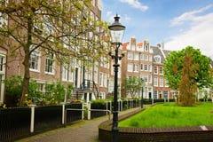 Begijhof, Amsterdam, Paesi Bassi Fotografia Stock