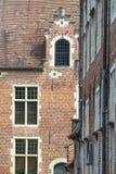 Begijnhof在鲁汶(比利时) 免版税库存图片