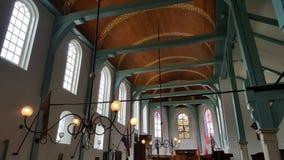 Begijnhof教堂,阿姆斯特丹,荷兰 免版税库存照片