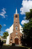 Begijnhof教堂,阿姆斯特丹 免版税库存照片