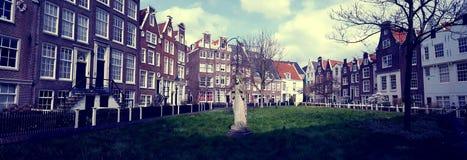 Begijnhof a Amsterdam Fotografia Stock Libera da Diritti