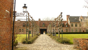 begijnhof beguinage Belgium Leuven Obraz Royalty Free