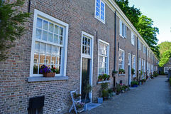 Begijnhof and the Beguines in Breda Royalty Free Stock Images