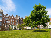 Begijnhof Court in Amsterdam Stock Image