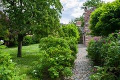 Begijnhof, Löwen Lizenzfreies Stockbild