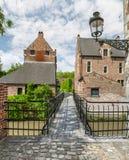 Begijnhof, Leuven Stock Afbeeldingen