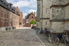Begijnhof, Louvain Photographie stock libre de droits