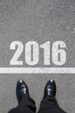 Begin aan nieuw jaar Stock Foto's