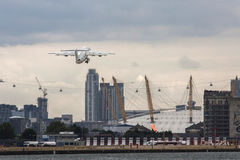 London City Airport Stock Photo