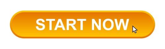 Begin nu vector illustratie