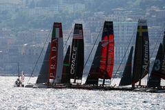 Begin regatta Royalty Free Stock Photos