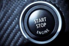 Begin uw motoren Royalty-vrije Stock Foto