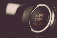 Begin Uw Motoren Royalty-vrije Stock Foto's