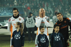 Begin van ALS Rome - de gelijke van CFR Cluj Royalty-vrije Stock Foto's