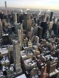 Begin van de dag in New York stock afbeeldingen