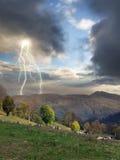 Begin van het onweer Royalty-vrije Stock Afbeeldingen