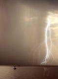Begin van het onweer Stock Fotografie