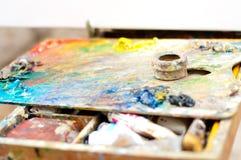 Begin van het schilderen Stock Fotografie