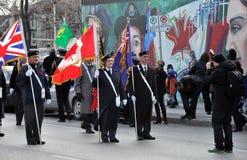 Begin van parade Royalty-vrije Stock Foto's