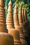 Begin van treden tot de bovenkant van Tiger Cave Temple stap 1237 aan aan Stock Foto