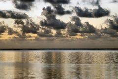 Begin van zonsopgang stock afbeelding