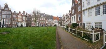 Beginhof, Amsterdam Immagini Stock Libere da Diritti
