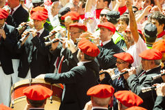 Begining of San Fermin feast Royalty Free Stock Photos