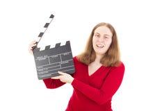 Beginnen der Produktion für den neuen Film Stockbilder