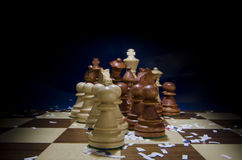 Beginnen des Spiels Stockbild