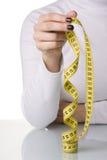 Beginnen einer Diät Lizenzfreie Stockfotos