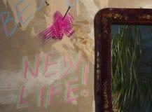 Beginnen Sie eine neue Lebensdauer Stockbild