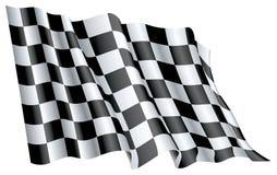 Beginnen Sie Flagge Lizenzfreies Stockfoto