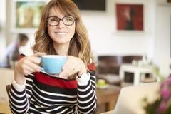 Beginnen Sie mein Tag mit einem guten Kaffee Lizenzfreie Stockbilder