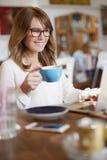 Beginnen Sie mein Tag mit einem guten Kaffee Lizenzfreie Stockfotografie