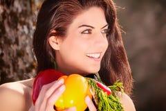 Beginnen Sie mit einer neuen Diät Lizenzfreie Stockfotografie
