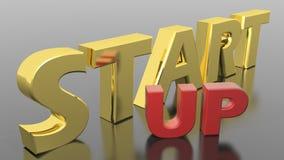 Beginnen Sie oben Lizenzfreie Stockfotos