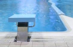Beginnen Sie Platz in Pool 2 Stockbild