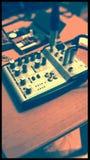 Beginnen von DJing Stockbild