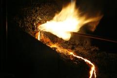 Beginnende brand Stock Afbeelding